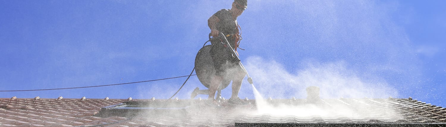 Roof Cleaning - Roof Restorations