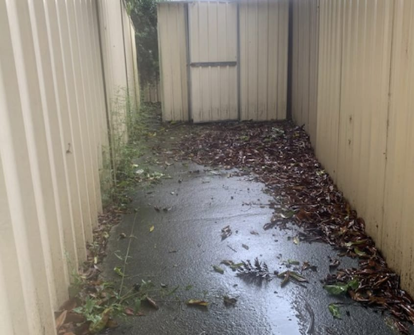 Property Services Redlands - Cleaning Concrete Surface
