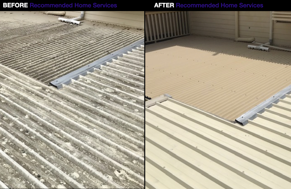 Redlands Roof Cleaner - Tin Roof Cleaning
