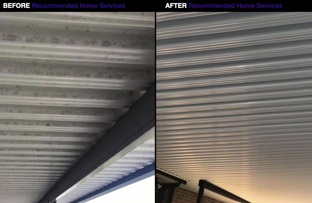 Under Patio Roof Cleaners Redlands - Pressure Washing Service