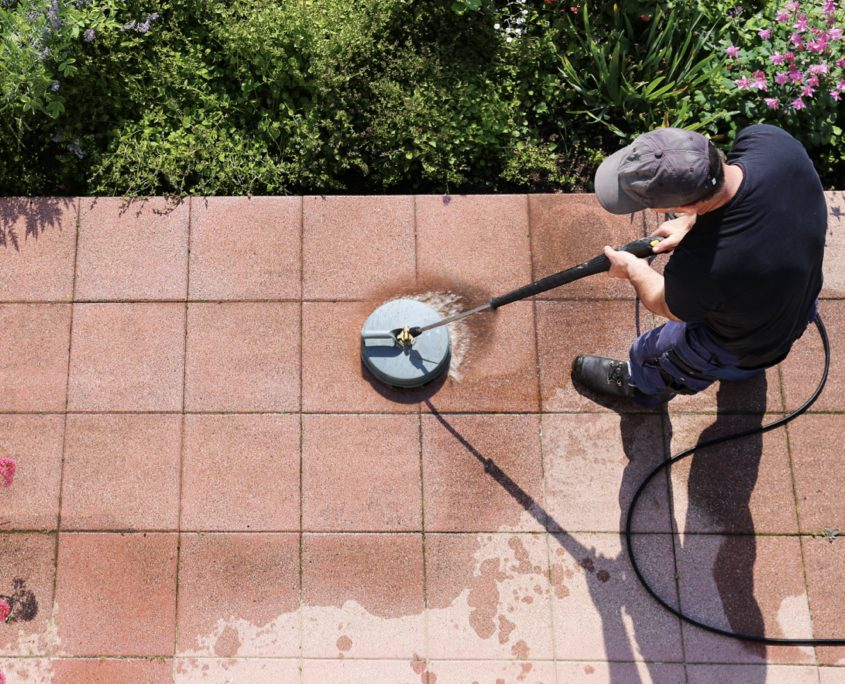 Surface Preparation Services - Pressure Cleaning Business